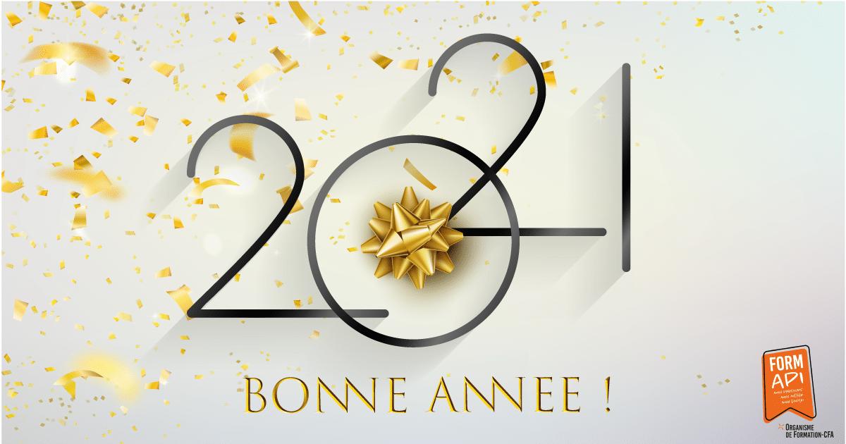 FORMAPI vous souhaite une bonne année 2021