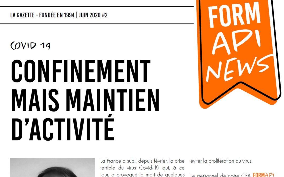 FORMAPI News juin 2020
