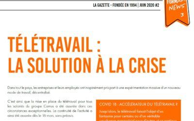 Télétravail : la solution à la crise