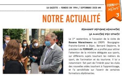 Bernard DEPIERRE rencontre la Ministre des sports