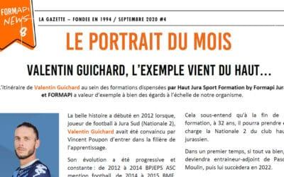 Le portrait du mois : Valentin Guichard