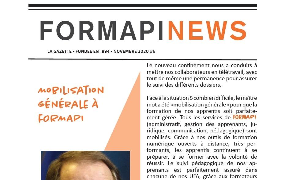 FORMAPI News novembre 2020