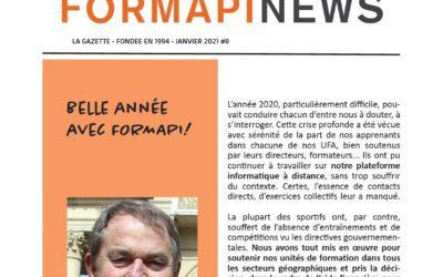 FORMAPI News janvier 2021