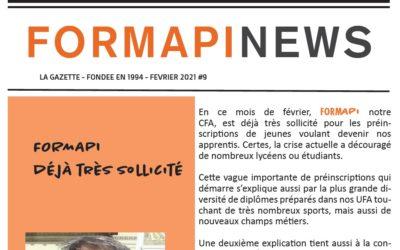 FORMAPI News février 2021