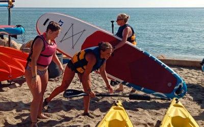 Kayak Paddle Moriani recherche assistant un(e) apprenti(e) pour animations sportives saison 2021 (kayak et paddle en mer).